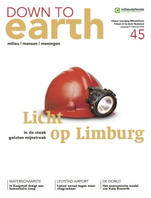 Cover Milieudefensie Magazine Down to Earth nummer 45