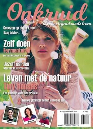 Cover Onkruid Magazine nummer 255
