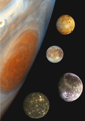 De maantjes van Jupiter